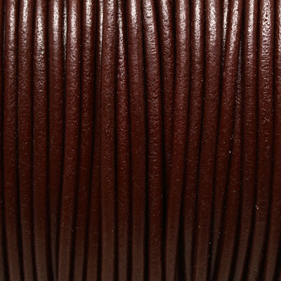 Round Leather Cord 4 mm