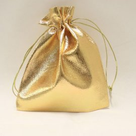 Jewellery Pouch Gold