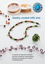 Jewelry created with wire