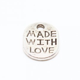"Oval Tag ""Made with Love"" SP"
