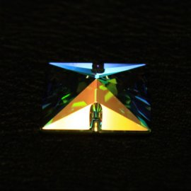 Swarovski Sew on Crystal Pyramid